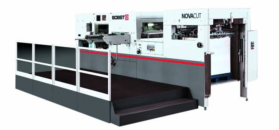 Nova cut bobst die cutting machine – Imprint